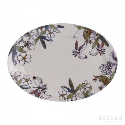 Fontenebleau serving plate