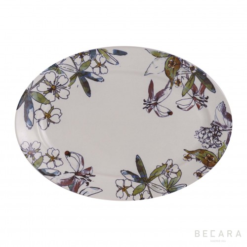 Fontenebleau serving plate