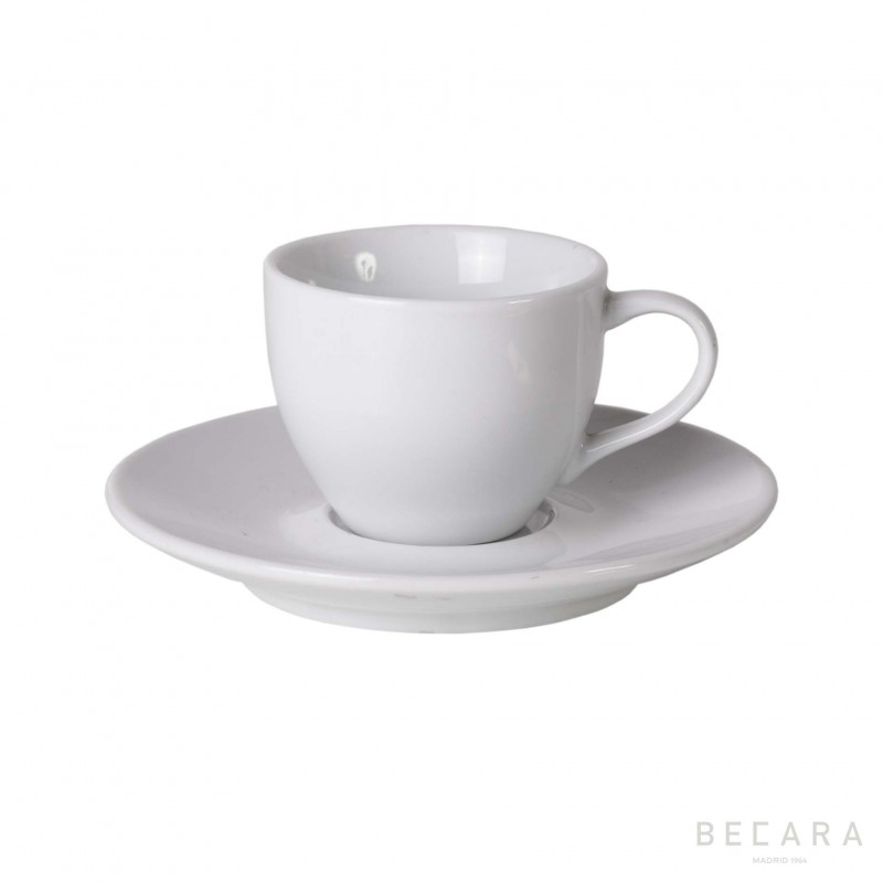 Espresso cup with plate