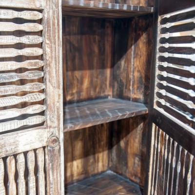Openwork cabinet