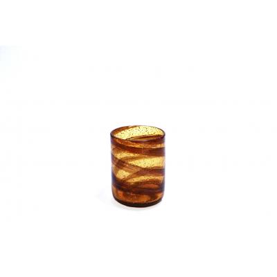 Vaso espiral bajo