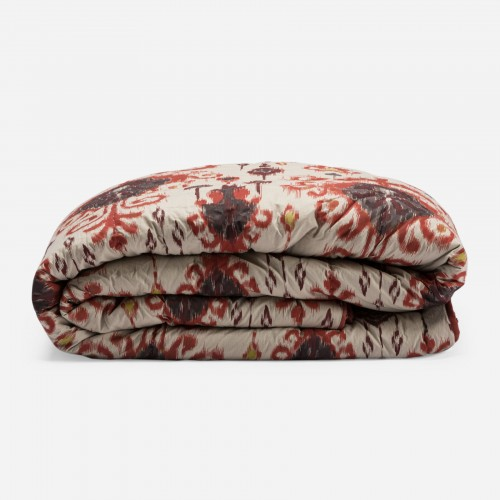 Feruza red quilt