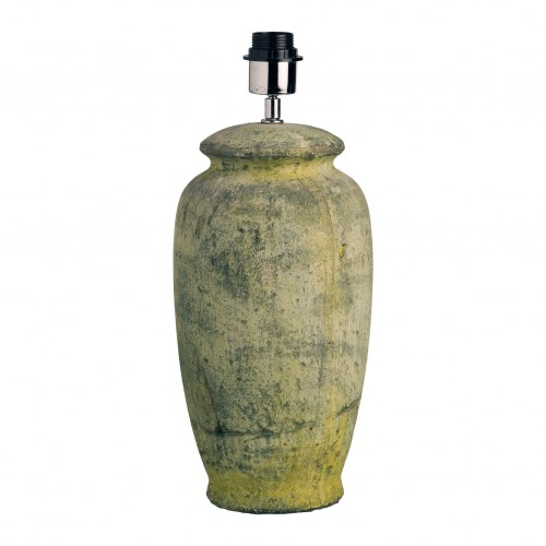 Ø44cm green pot table lamp