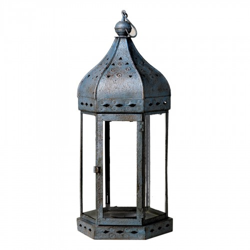 Blue aged lantern