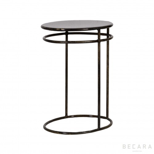 Mesa auxiliar ovalada - BECARA