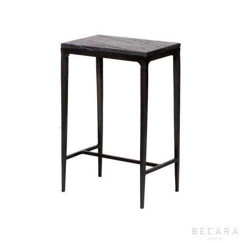 Slate side table