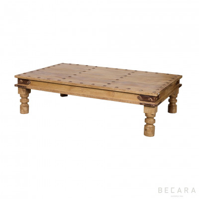 Coffee table with thumbtack