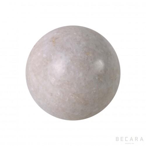 Big white sphere
