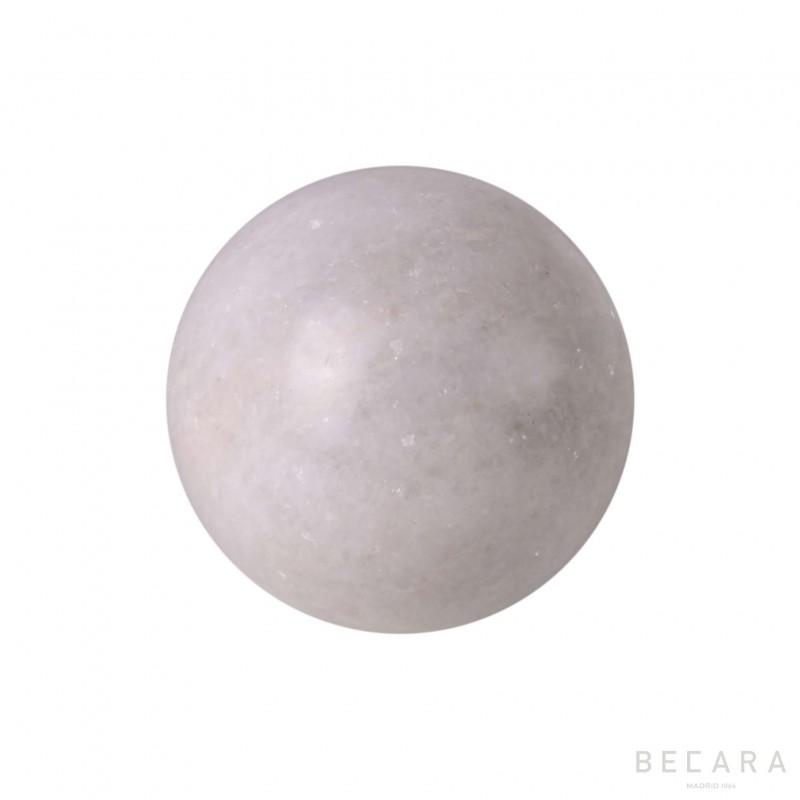 Esfera blanca mediana - BECARA