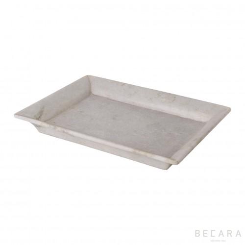 Big white tray
