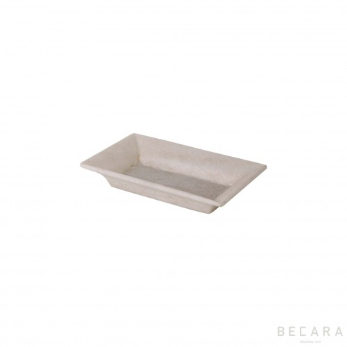 Small white tray