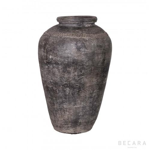 Vasija marrón - BECARA