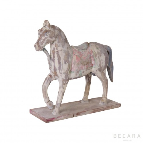 Horse on stand