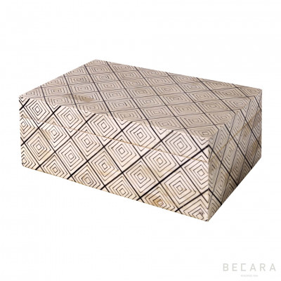 Caja rectangular motivos grande