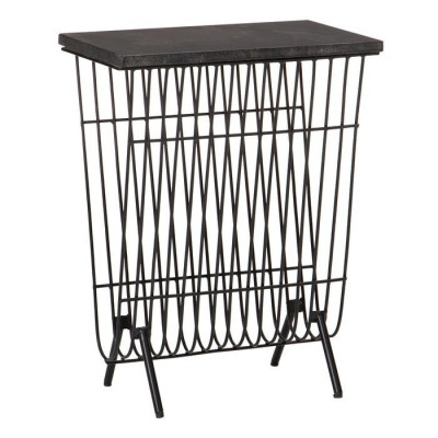 Holy side table/magazine rack