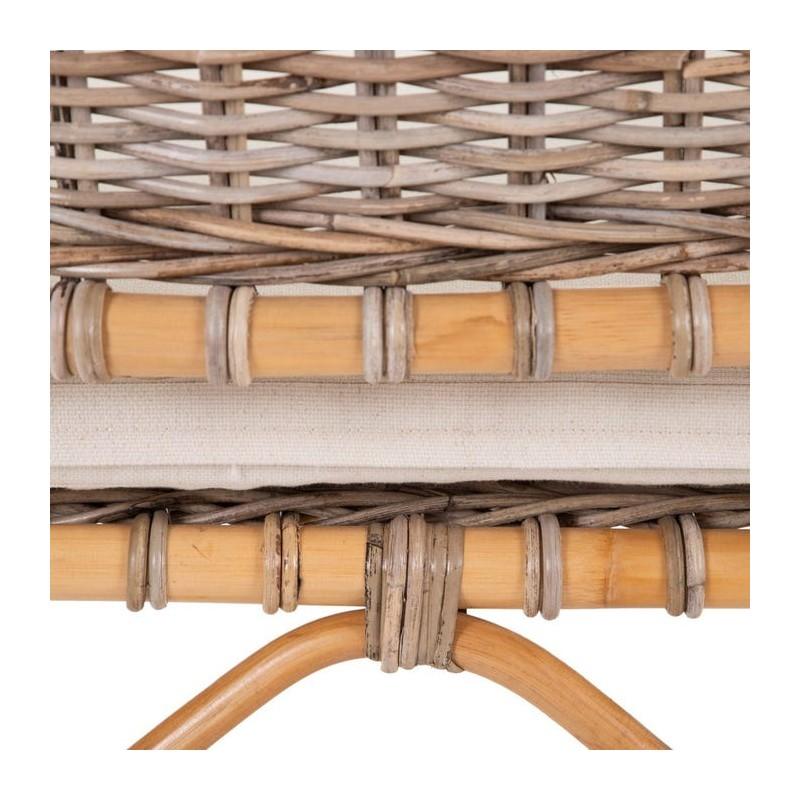 Guetaria armchair with cushion