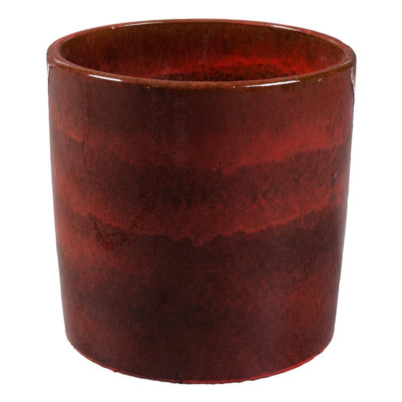 Ø50cm red round flowerpot