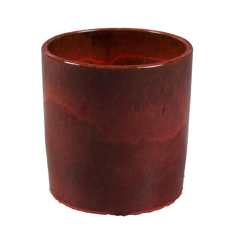 Tiesto rojo redondo Ø40cm - BECARA