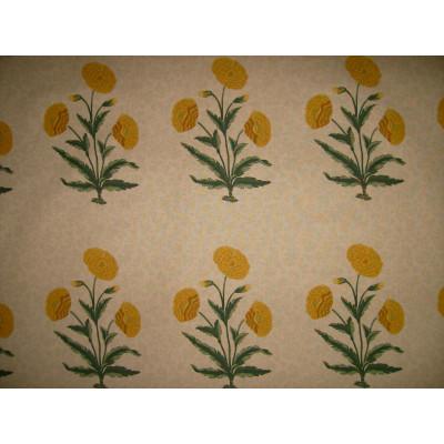 Tela Poppy beige amarilla - BECARA