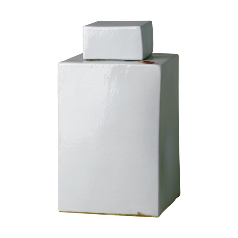 Tea porcelain container