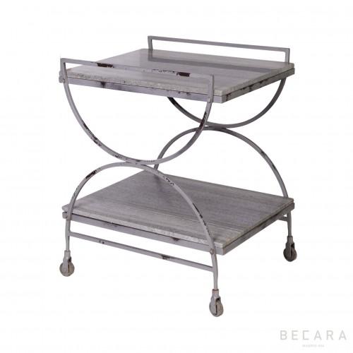Mesa auxiliar con ruedas - BECARA