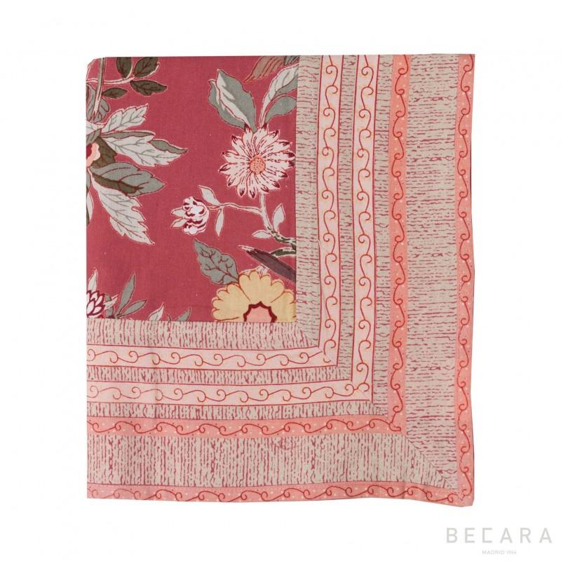 Small Bird Brique tablecloth