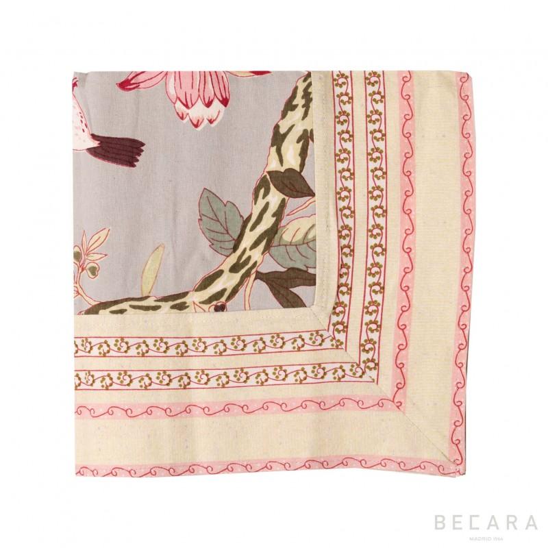 Small Bird Sauge tablecloth