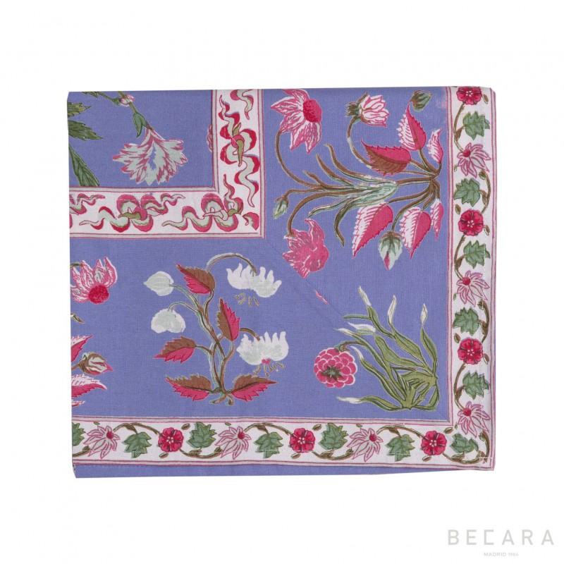 Small Garden Azure tablecloth