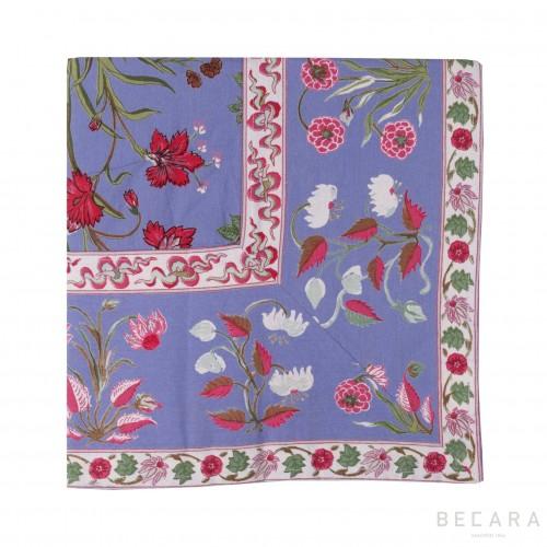 Big Garden Azure tablecloth