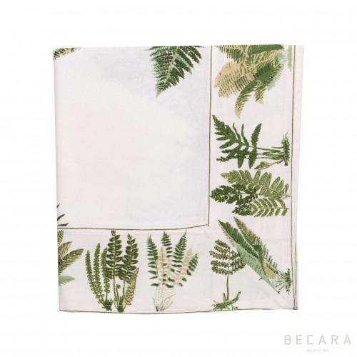 Mantel Fern Cream pequeño - BECARA