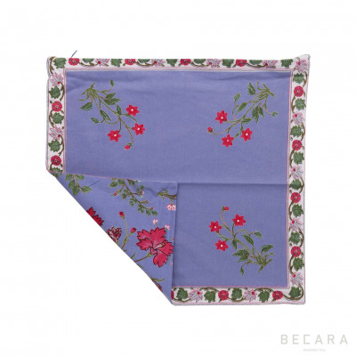 Garden Azure cushion cover