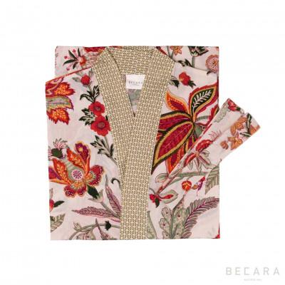 Kimono/Bata Beige Hawaii - BECARA