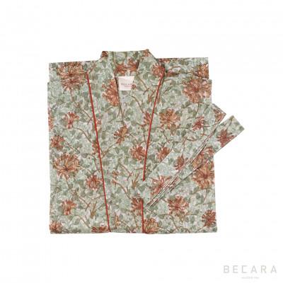 Kimono/Bata Honey Suckle - BECARA