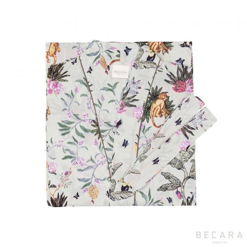 Ubud Wave kimono/housecoat