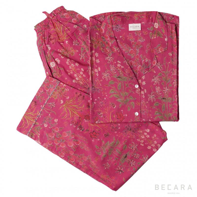Pijama Garden Red - BECARA