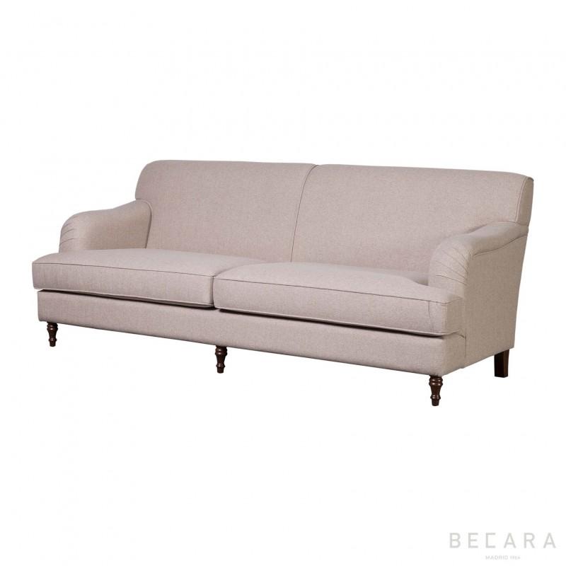 Small beige Bristol sofá