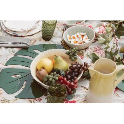 Green/white small bowl