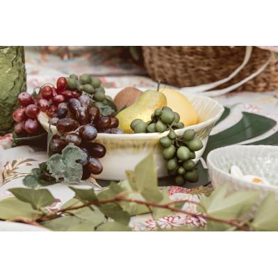 Yellow salad bowl