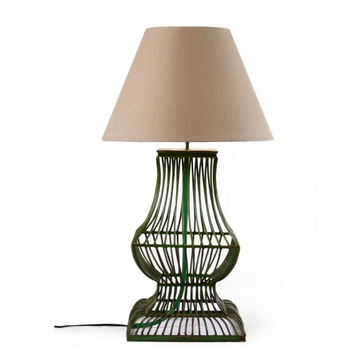 Green strips table lamp