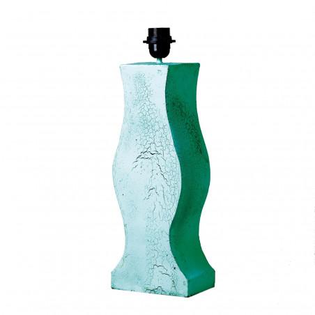 CHILLON GREEN RECTANGULAR STAND LAMP