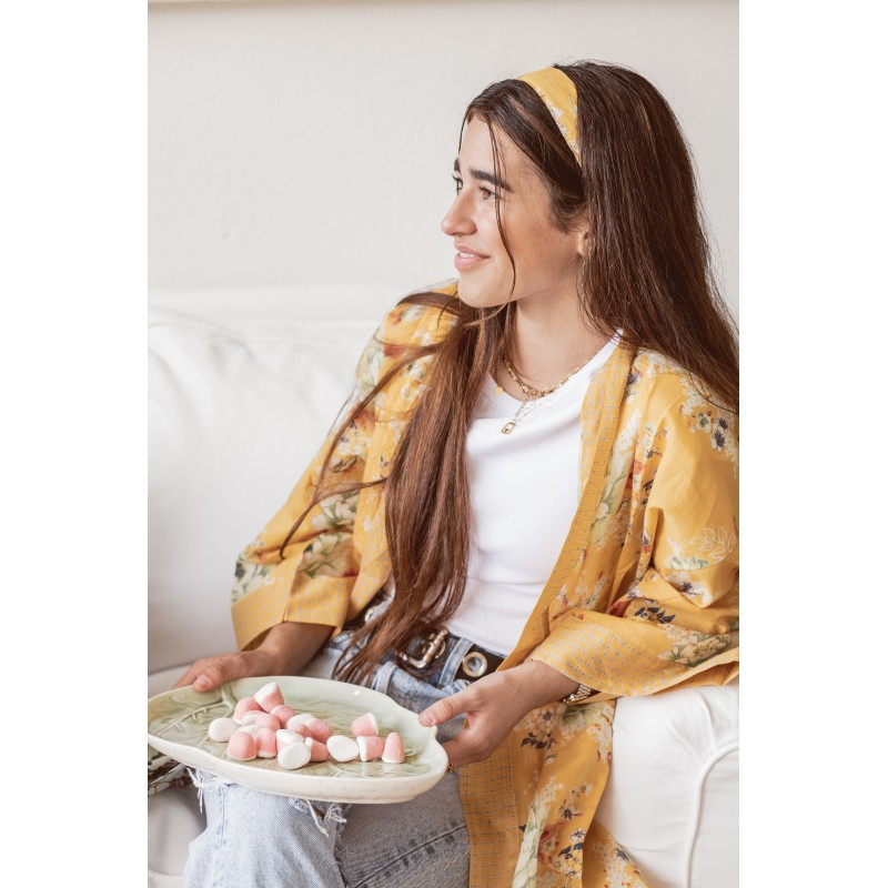 Magnolia Mango kimono/housecoat