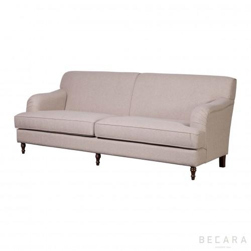 Large beige Bristol sofa