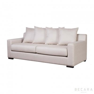 Big beige Corn sofa