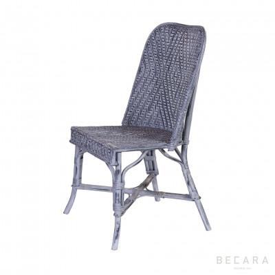 Bluish-gray linden chair