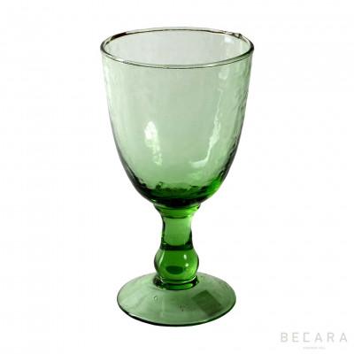 Copa de agua Alice verde