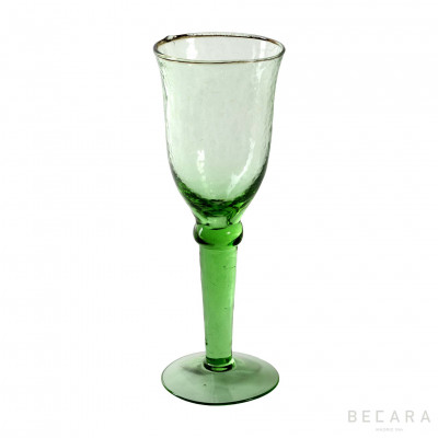 Alice green champagne cup