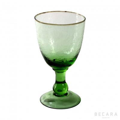 Copa de vino Alice verde