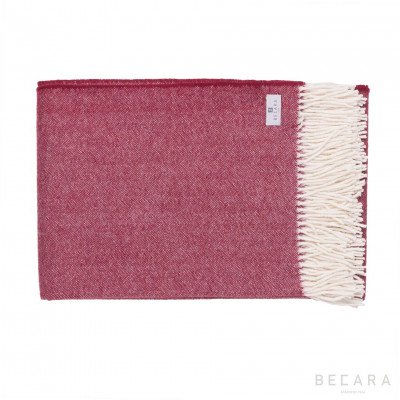 Burgundy blanket