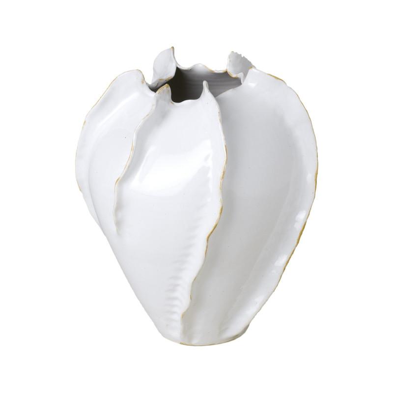 WHITE CACTUS FLOWERPOT