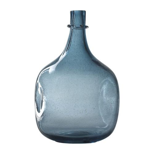 Blue bubble bottle
